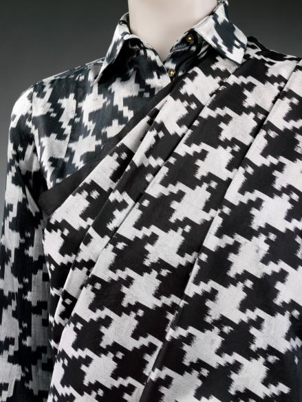 11)INDIA Houndstooth