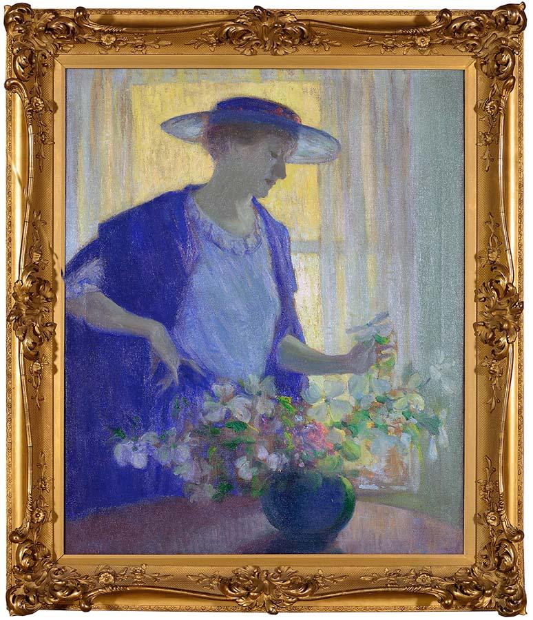 2. woman-with-flowers