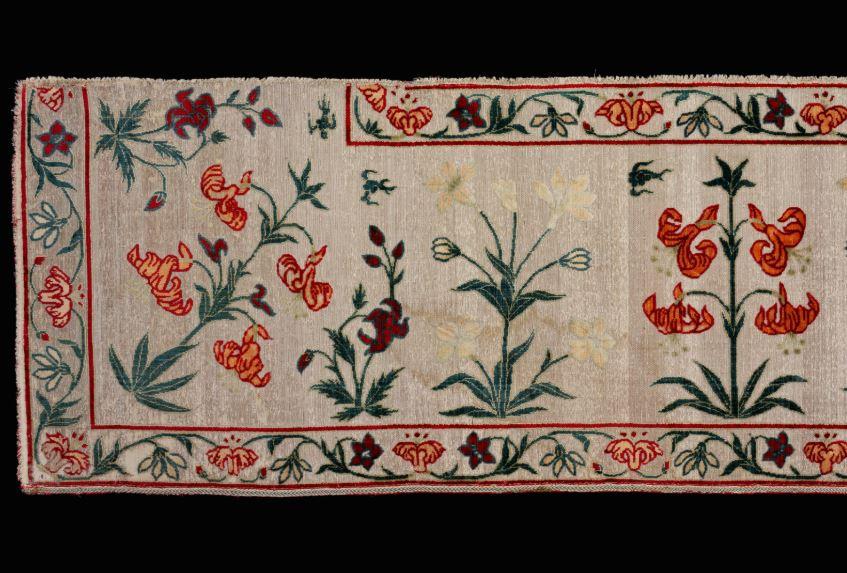 2)INDIA flower border