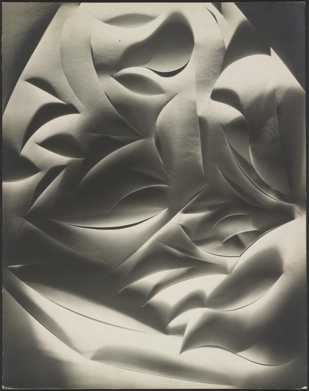 4 Bruguière-cut paper abstraction