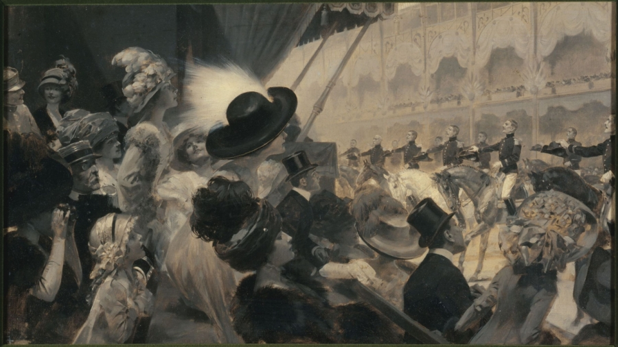 5 Paris-1900-ReneLelong-CarouselGrandPalais-grisaille