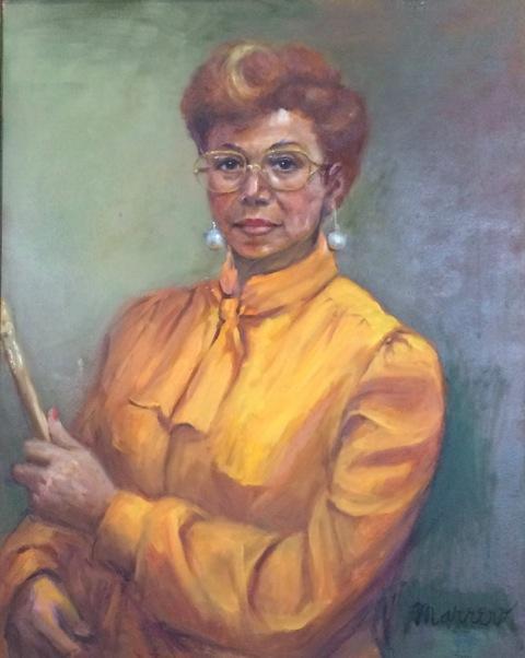 Edith (oil) 24 x 30