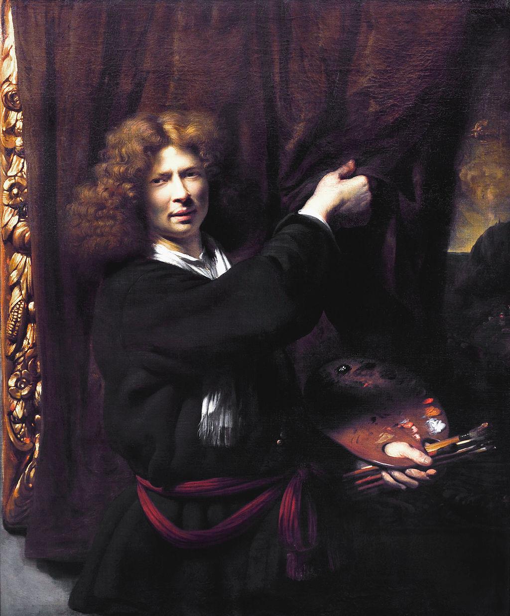 1 AgeRembrandt--Cornelis_bisschop1_zelfportret_1668
