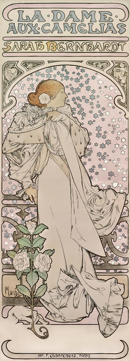 10) AFFICHOMANIA Mucha - Sarah Bernhardt - 1896