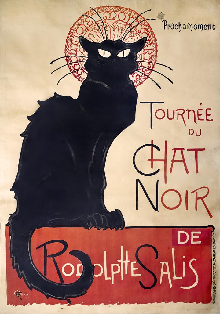 12) AFFICHOMANIA Steinlen - Le Chat Noir - 1896–97
