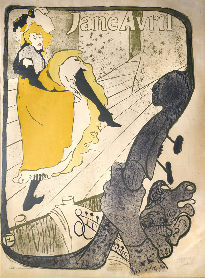 15)AFFICHOMANIA Toulouse-Lautrec - Jane Avril - 1893