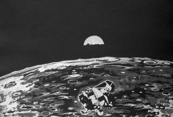 """""""Moon Museum"""": Celebrating Artistic Contributions to the Space Program"""