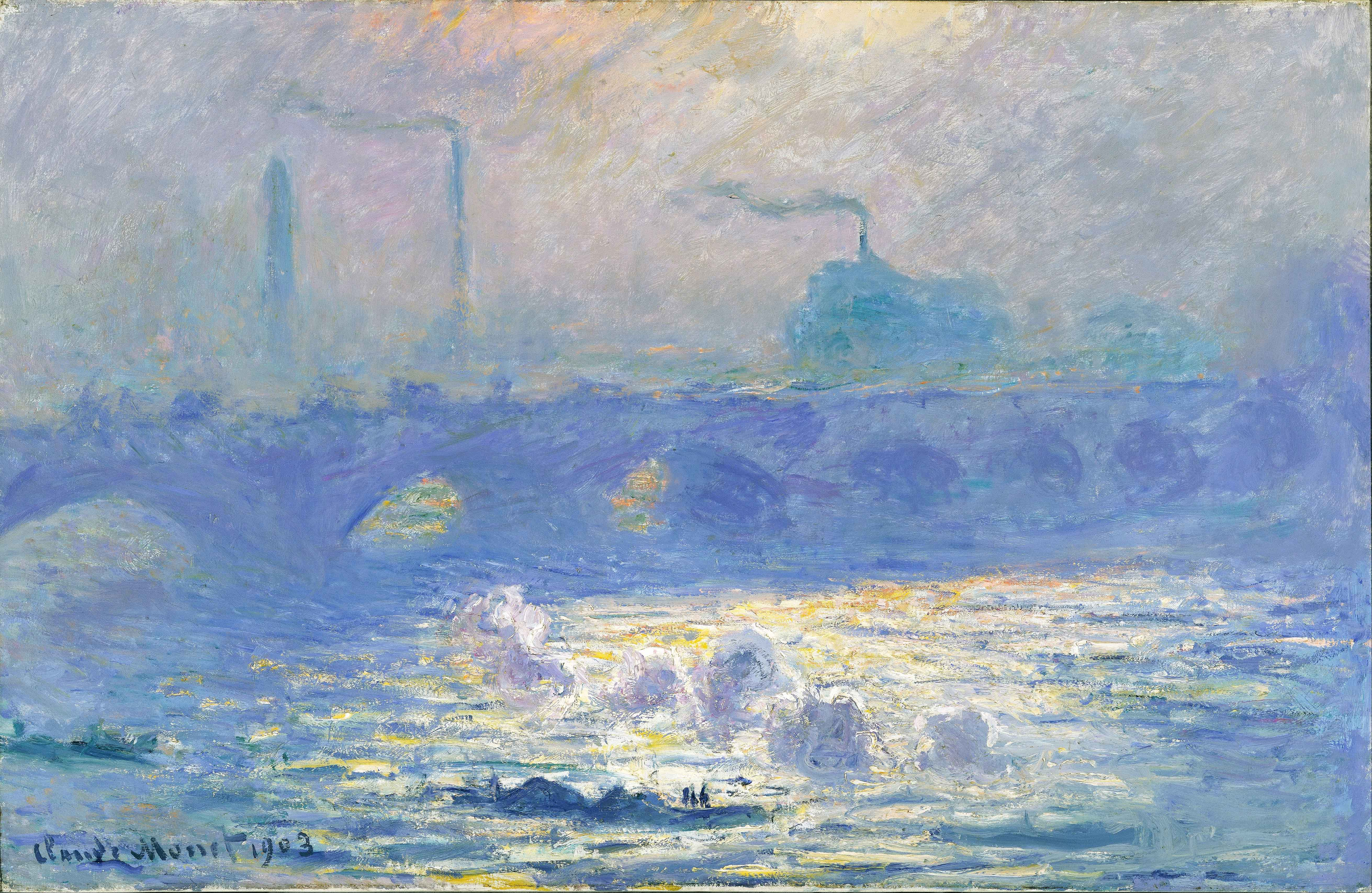 2Claude_Monet_Waterloo_Bridge_DenverArtMuseum