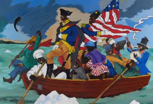 Stride Piano on Canvas: Robert Colescott at the Contemporary Arts Center