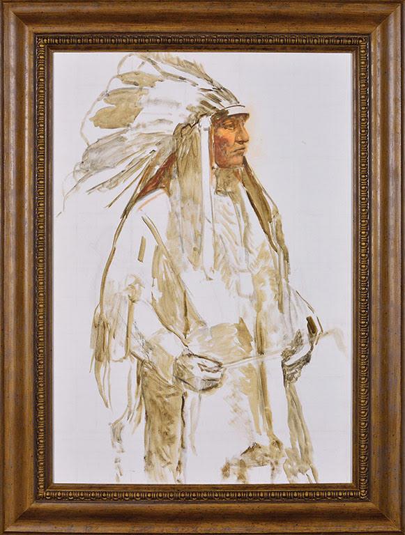11)BESSIE White Feathered Headdress
