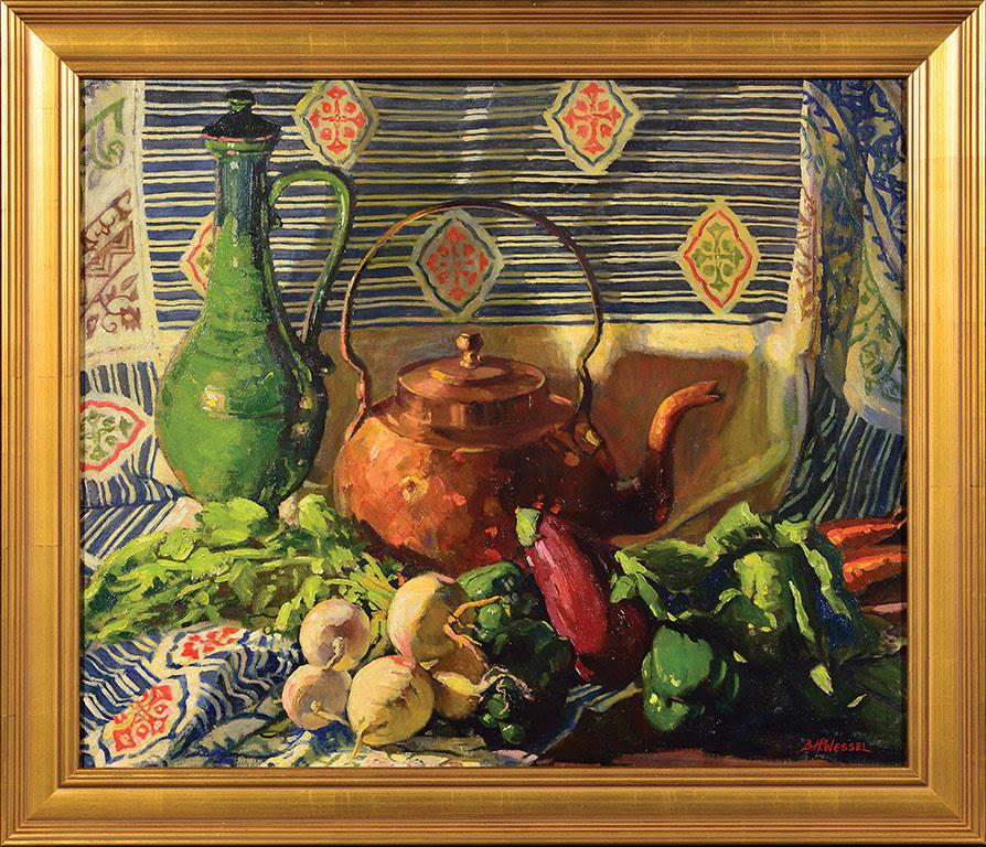 5)BESSIE Duveneck Vase