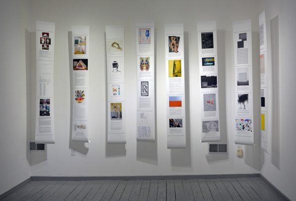 Drifting and Digging: Birgit Jensen's Flugblätter at Clay Street Press Gallery