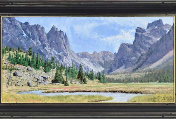 "Robert and Chuck's grand adventure: ""Into the Wilderness""  Eisele Gallery, Cincinnati"