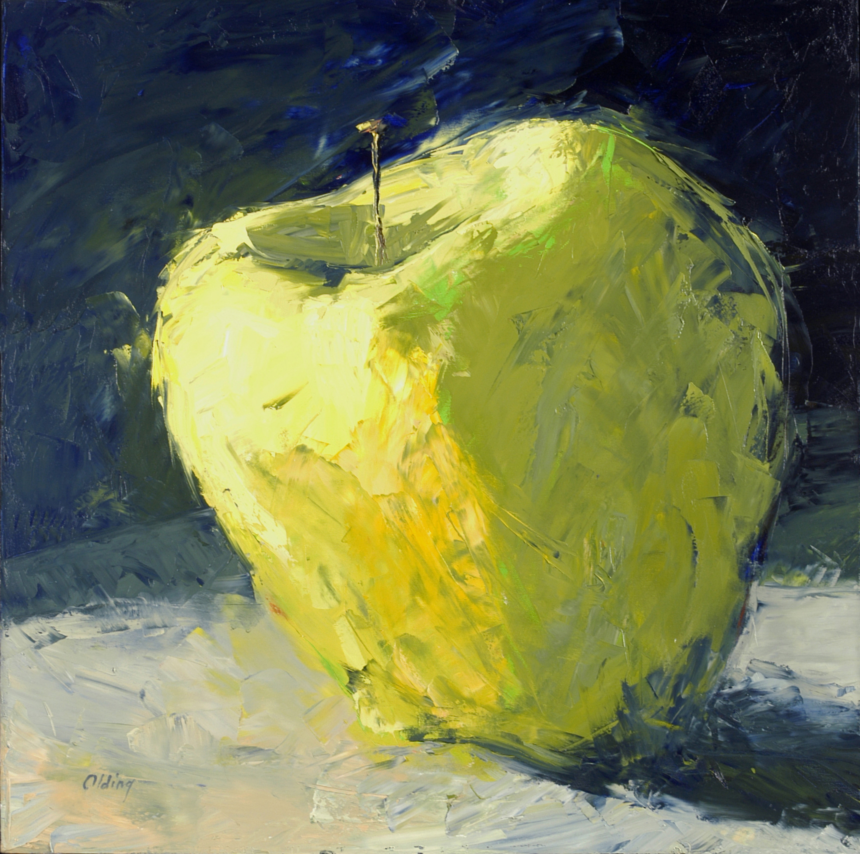 Lime Line Apple