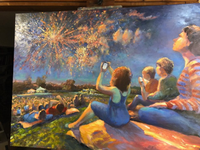 10)BRITTON Local Fireworks