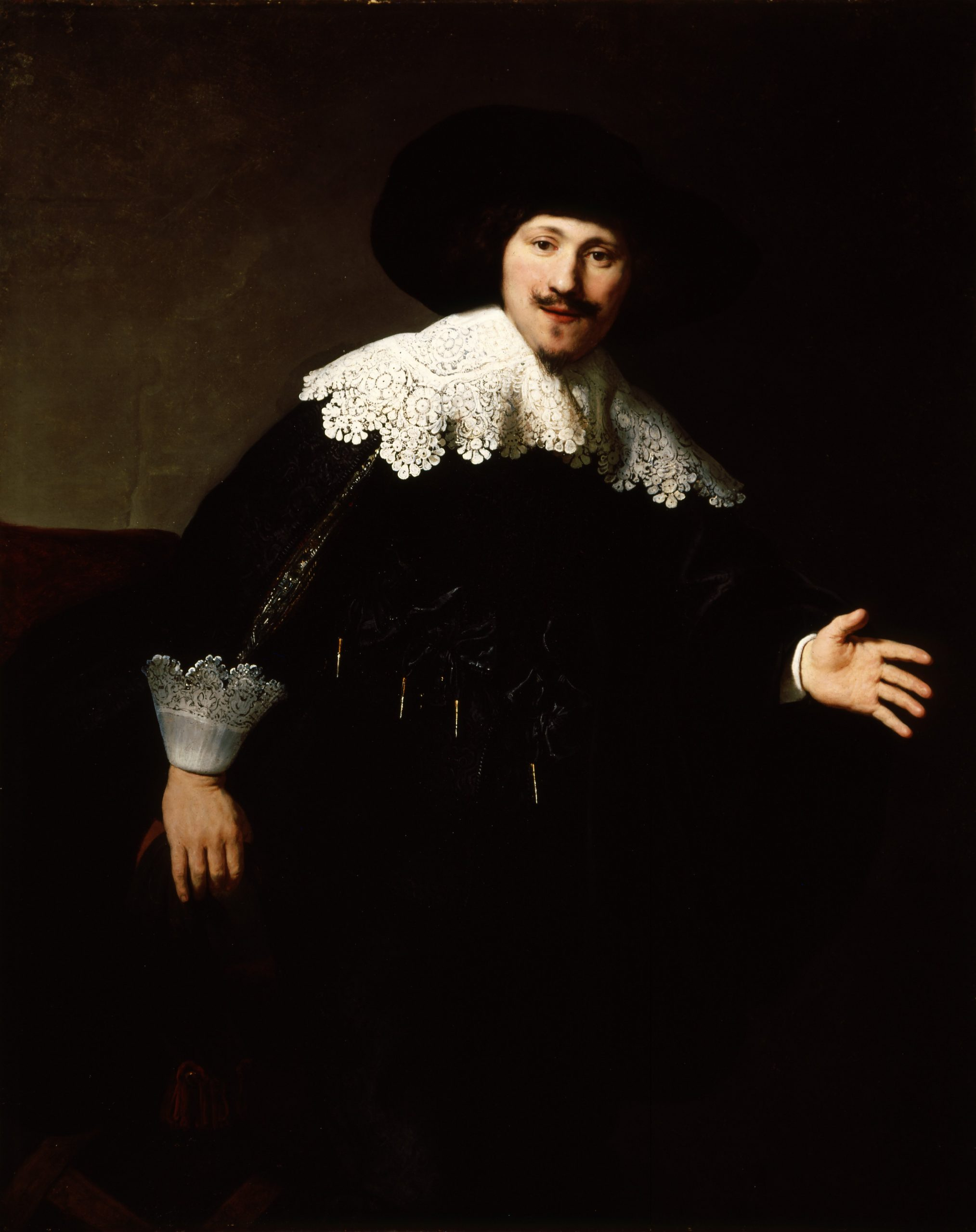 1 Rembrandt_-_Portrait_of_a_Man_Rising_from_his_Chair_-_1633