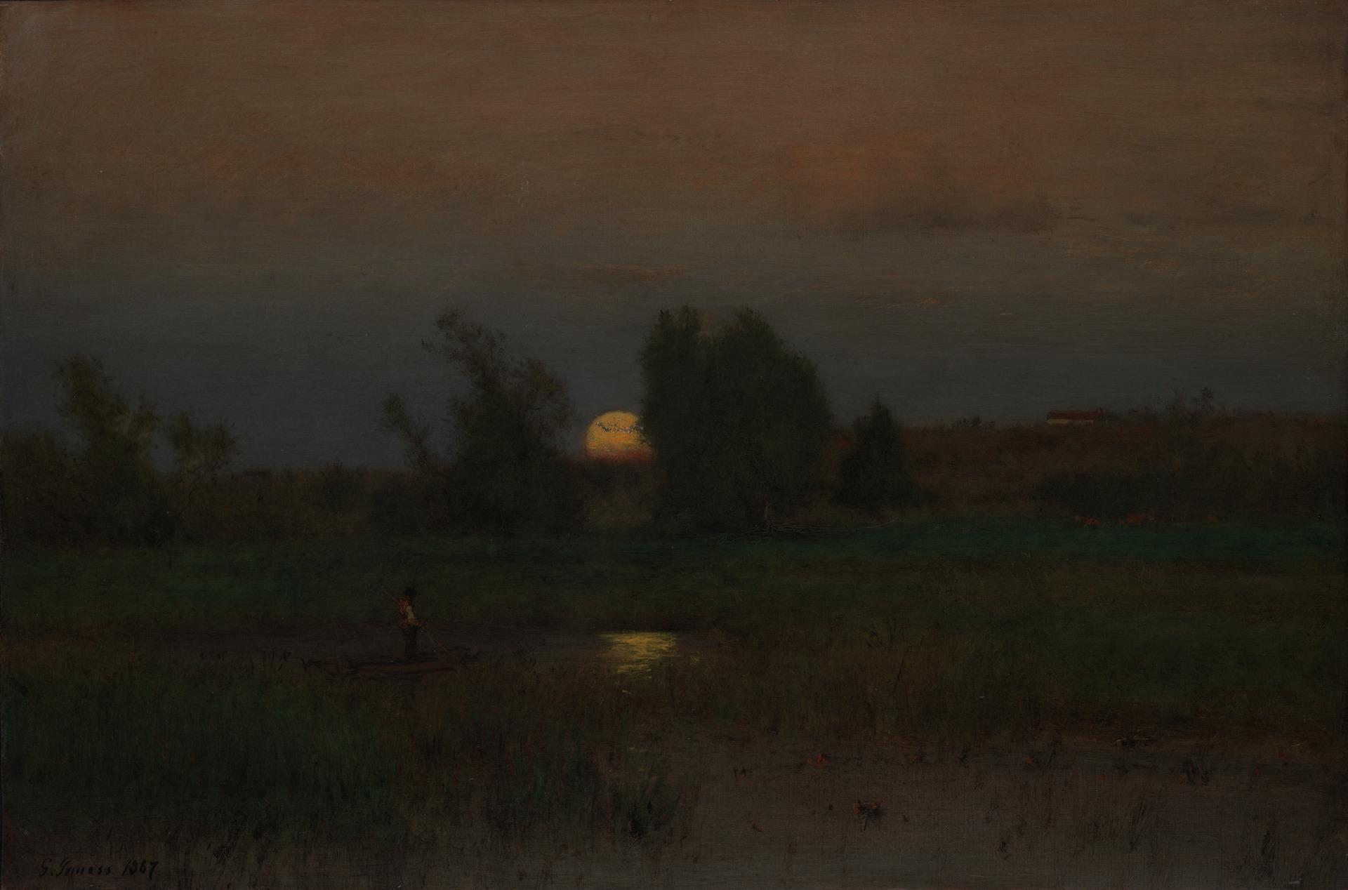Inness Moonrise
