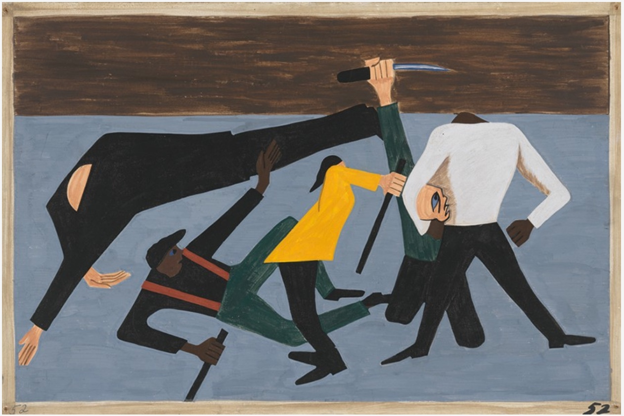 3JacobLawrence52MigrationSeries