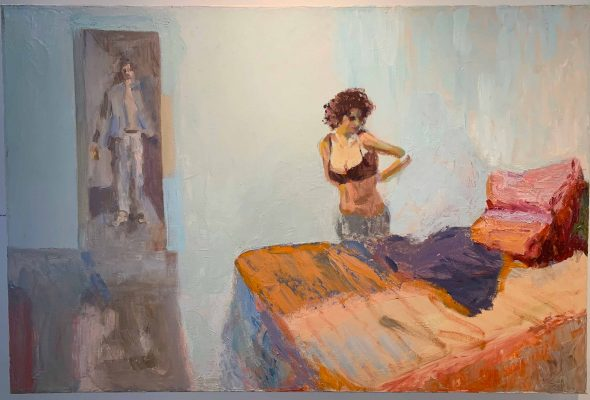 """""""The Sound of Still: Tina Tammaro & Leslie Daly,"""" Indian Hill Gallery, through June 6"""