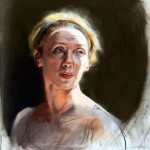 Erwin's Pastels: Recent Portraits Studies of Estrangement and Reconciliation