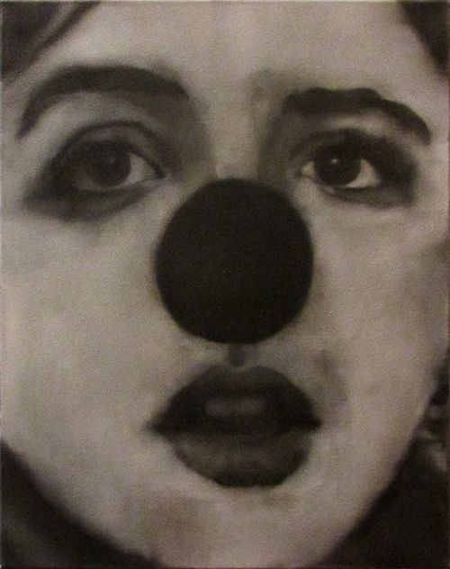 Black Nose, oil on canvas