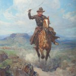 """The Idler and the Crowd:  """"Wild West to Gilded Age: American Treasures  from the Santa Barbara Museum of Art""""  at the Taft Museum of Art, February 6, 2015-May 24, 2015"""