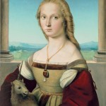 "The Dog, the Unicorn, and the Wheel: ""Sublime Beauty: Raphael's 'Portrait of a Lady with a Unicorn'"" at the Cincinnati Art Museum, October 3, 2015-January 3, 2016"