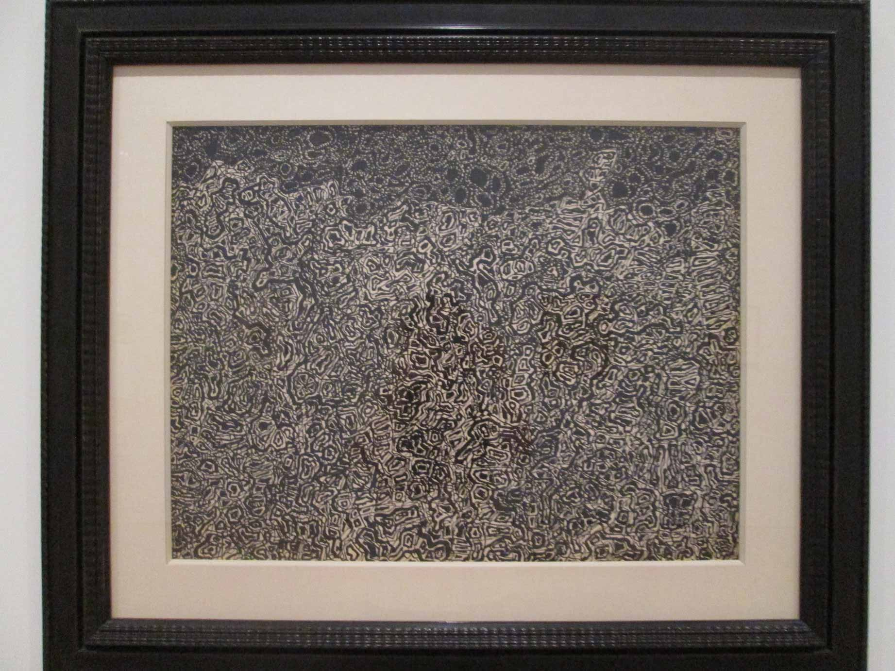 Jean-Dubuffet,-Paysage-au-Lapin-----(Landscape-with-Rabbit),-pen-and-reed-pen-and-india-ink,-1952