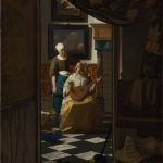 """""""Vermeer and the Masters of Genre Painting: Inspiration and Rivalry,"""" National Gallery of Art, throughJan. 21, 2018"""