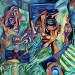 Visionary Artist Reilly Stasienko: Chronicling Consciousness Through Oil Paintings